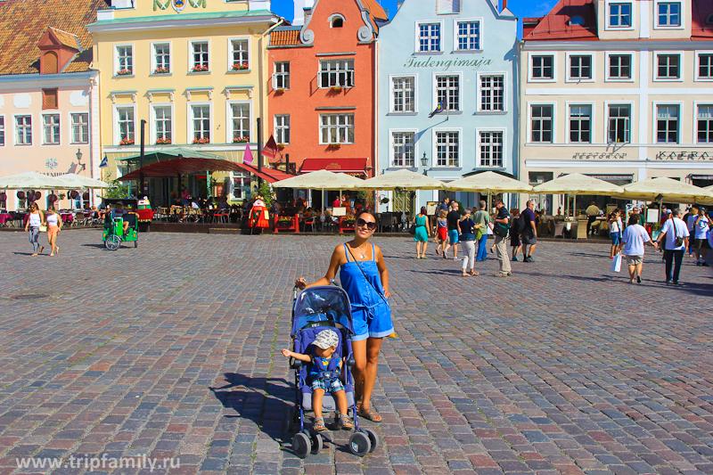 В Таллине с ребенком хорошо, но нюансы есть.
