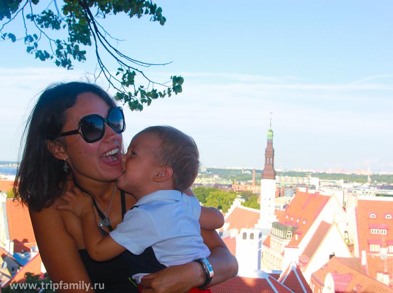 Одно из любимый места, с которого открывается сказочный вид на Таллин.