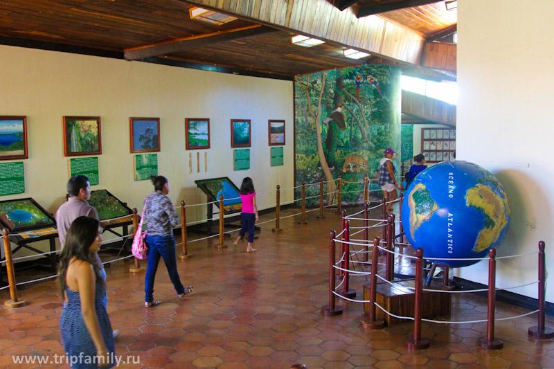 Музей в национальном парке Масая